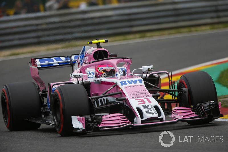 3. Esteban Ocon, Racing Point Force India VJM11