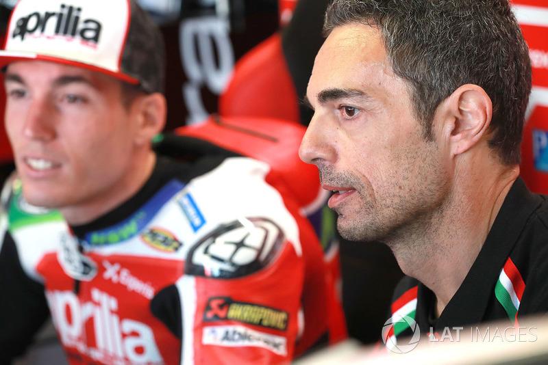 П'етро Капрара, новий керівник команди Алейша Еспаргаро, Aprilia Racing Team Gresini