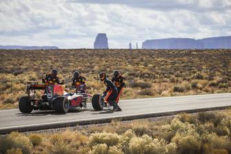 Daniel Ricciardo, Red Bull Racing, nella Monument Valley