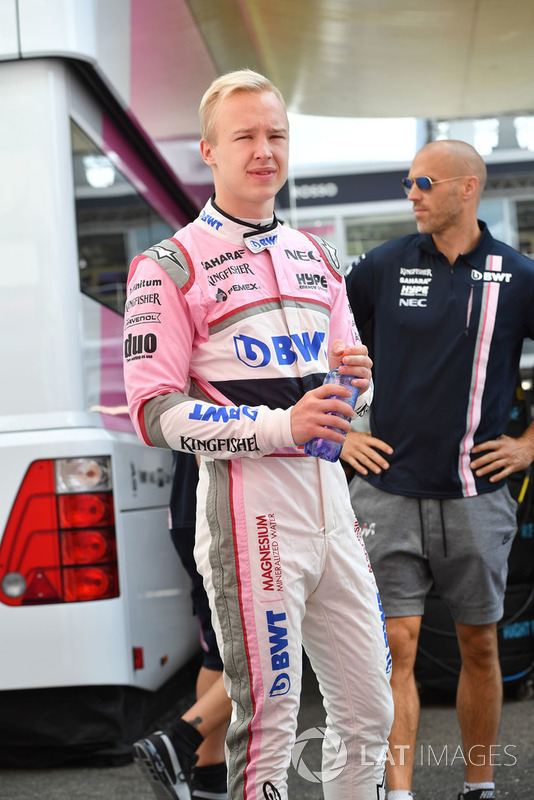 Nikita Mazepin, Force India