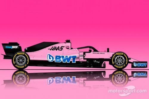 Haas BWT Livrea concept