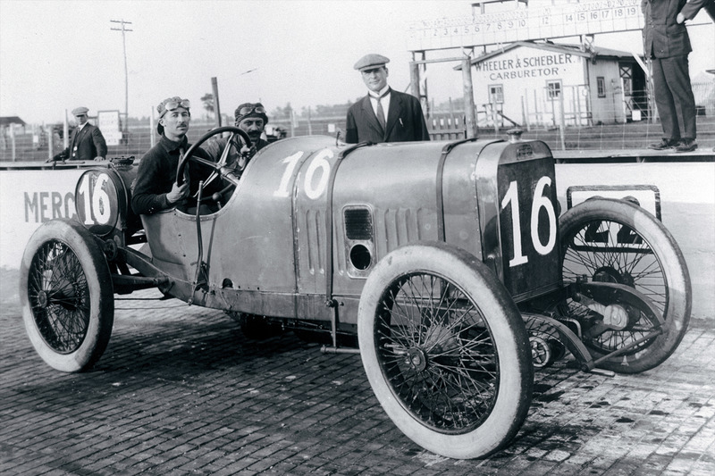 Le vainqueur Jules Goux, Peugeot