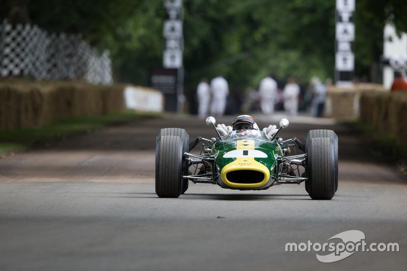 Lotus-BRM 43 - Jackie Stewart