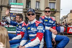 BR01 Nissan команды SMP Racing: Николя Минассян, Маурицио Медиани, Михаил Алёшин