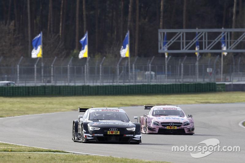 Timo Scheider, Audi Sport Team, Test car