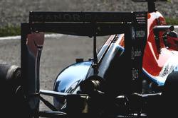 Manor Racing MRT05: Heckflügel