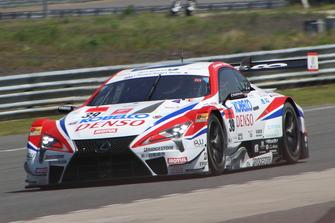 #39 Lexus Team Sard Lexus LC500: Heikki Kovalainen, Kamui Kobayashi