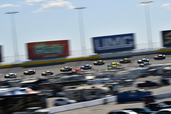Kyle Larson, Chip Ganassi Racing, Chevrolet Camaro DC Solar Vegas Strong and Jamie McMurray, Chip Ganassi Racing, Chevrolet Camaro GEARWRENCH