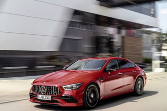 2019 Mercedes AMG GT 43 four door coupe