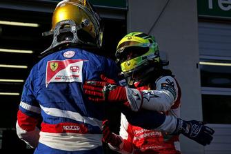 Robert Shwartzman, PREMA Theodore Racing Dallara F317 - Mercedes-Benz and Mick Schumacher, PREMA Theodore Racing Dallara F317 - Mercedes-Benz