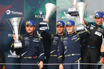 Podium GT Am: second place #90 TF Sport Aston Martin Vantage: Salih Yoluc, Jonny Adam, Charles Eastwood