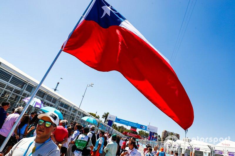 Una bandiera cilena