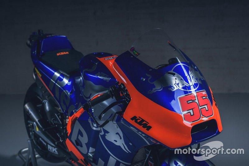 Мотоцикл KTM RC16 Хафиза Сьяхрина, Red Bull KTM Tech 3
