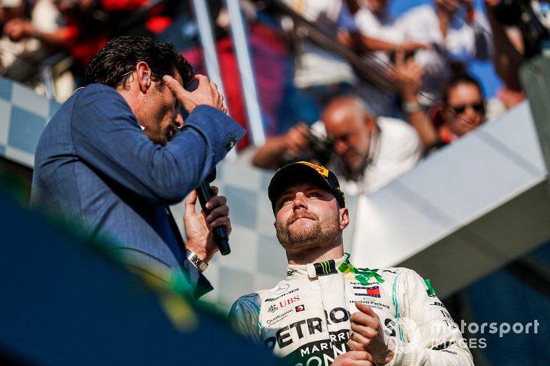 Марк Веббер і Валттері Боттас, Mercedes AMG F1