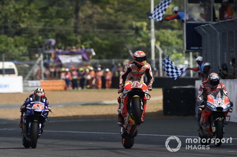 MotoGP Thailand 2018 di Chang International Circuit