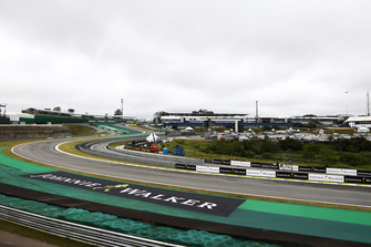 A scenic view of the first sequence of corners at Interlagos