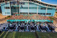 Mercedes AMG F1 World Championship celebration