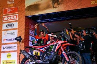 Podium: Monster Energy Honda Team Honda: JosŽ Ignacio Cornejo Florimo