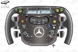 McLaren MP4-25 steering wheel
