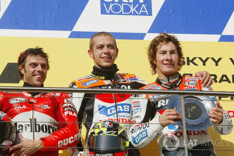2003 - Nicky Hayden se convierte en su nuevo compañero de equipo