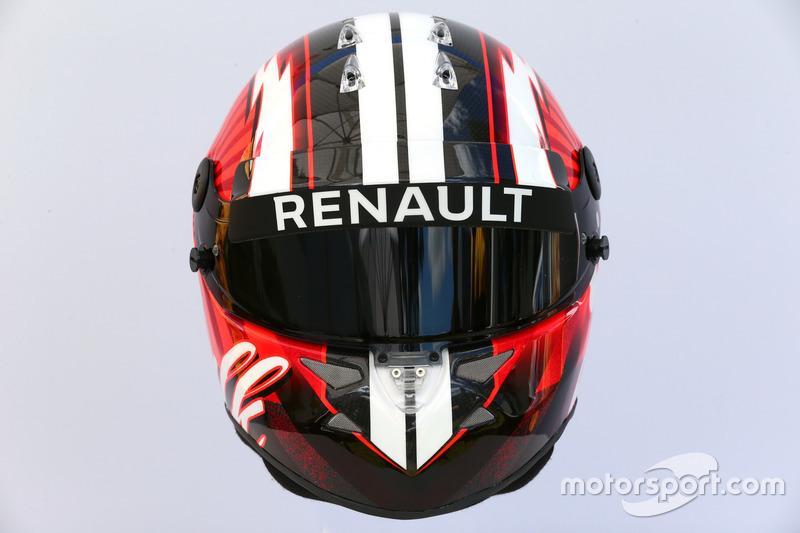 Casco de Nico Hülkenberg, Renault Sport F1 Team