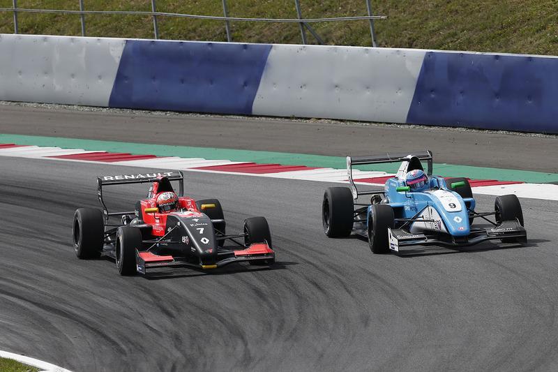 Max Fewtrell, Tech 1 Racing, Max Defourny, R-ace GP