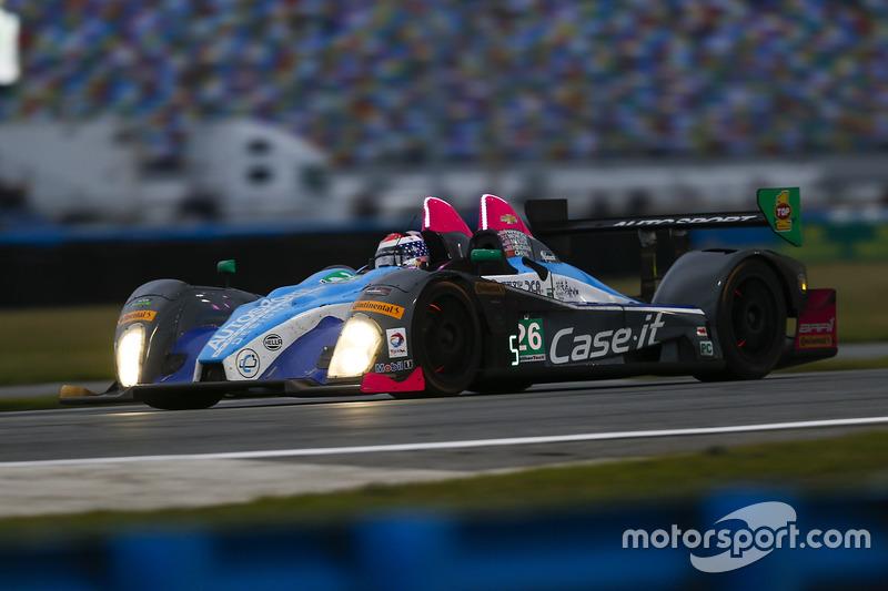 #26 BAR1 Motorsports Oreca FLM09: Adam Merzon, Johnny Mowlem, Tom Papadopoulos, Trent Hindman, David Cheng