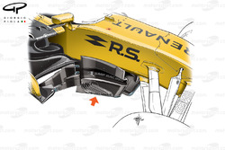 Renault R.S. 17 new barge board
