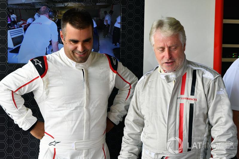 Zsolt Baumgartner, Kevin Eason, F1-Doppelsitzer