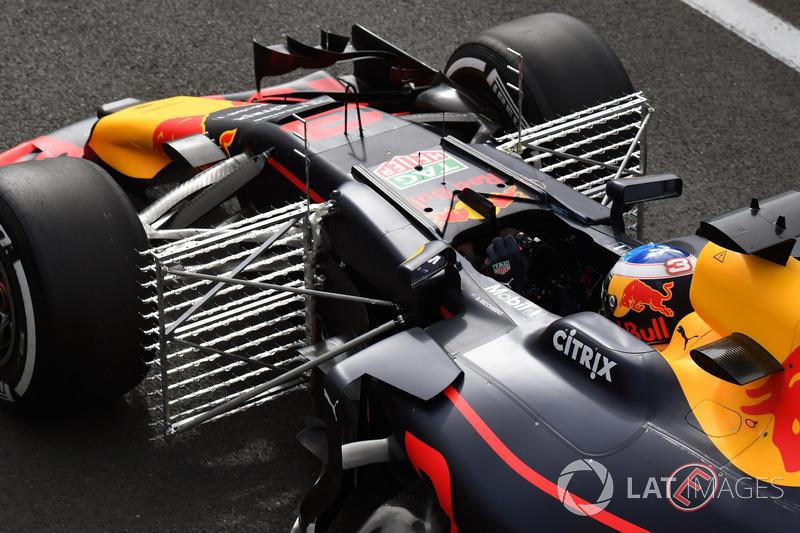 Daniel Ricciardo, Red Bull Racing RB13, aero sensörler