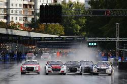 Старт: лідерство Себастьяна Льоба, Team Peugeot-Hansen, Peugeot 208 WRX