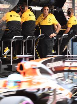 Cyril Abiteboul, directeur général de Renault Sport Racing