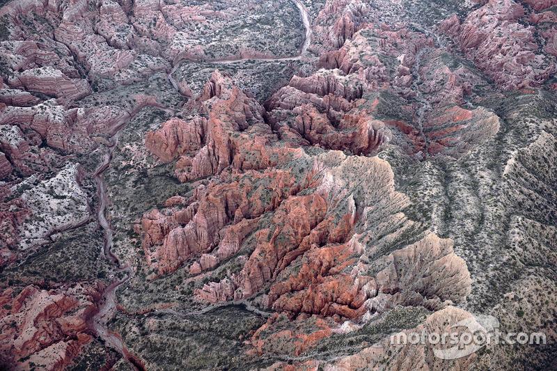 Landschaft aus der Luft