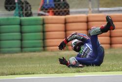 Maverick Viñales, Yamaha Factory Racing accidente