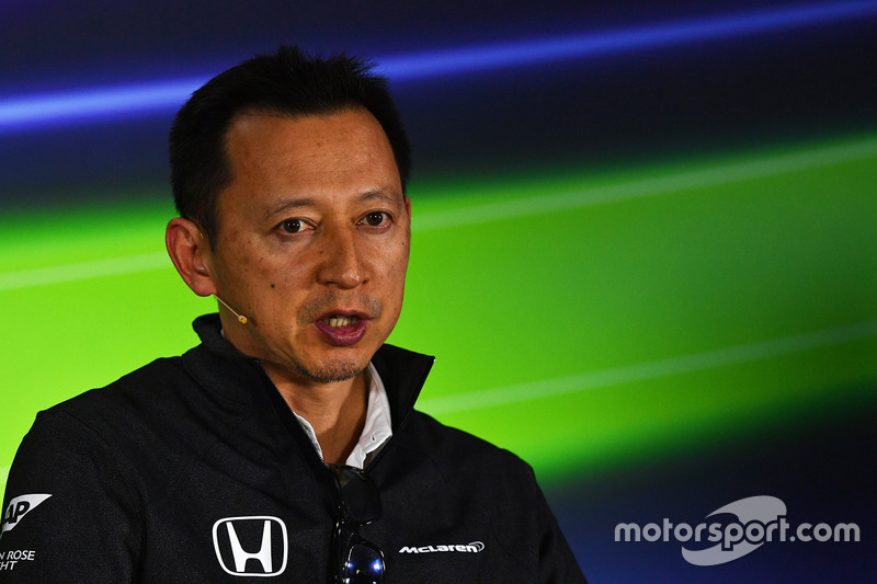 Yusuke Hasegawa, Head of Honda Motorsport in the Press Conference