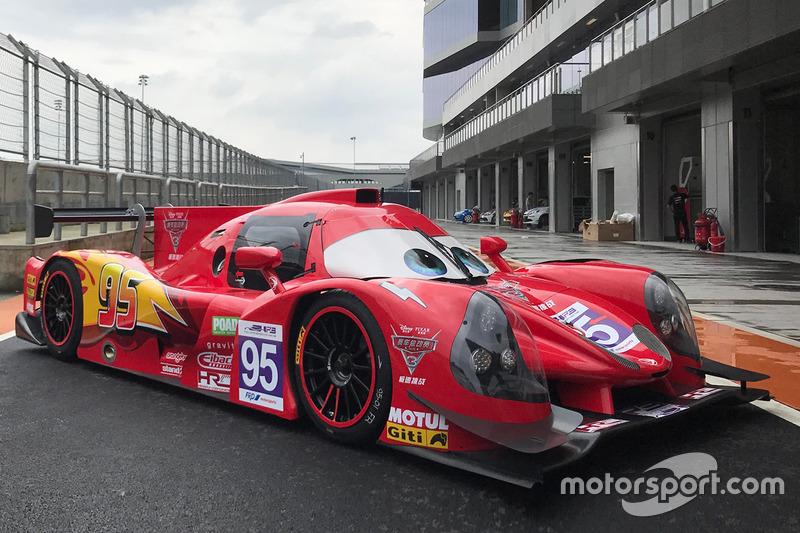 #95 Craft Bamboo Racing Ligier JS P3: Mathias Beche, James Winslow