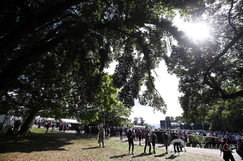 Fans at Goodwood
