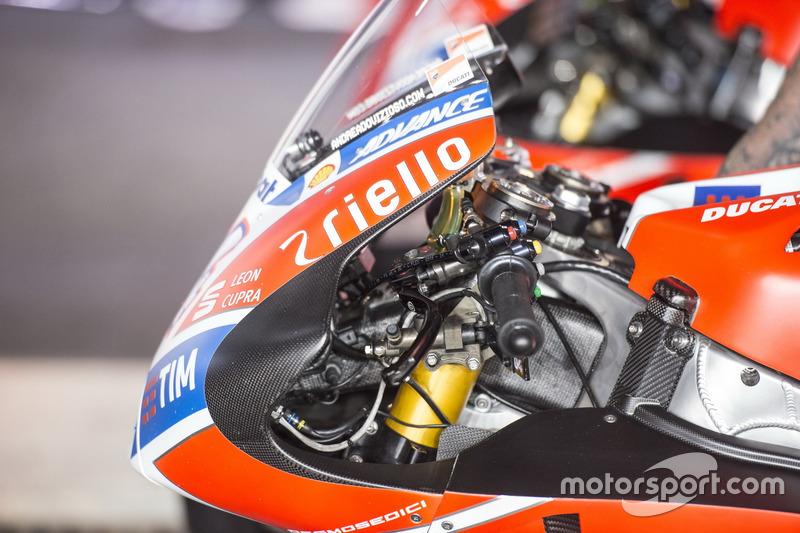 Detalle de moto, Ducati Team
