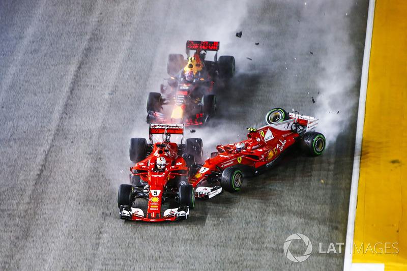 Sebastian Vettel, Ferrari SF70H (2 abandonos)