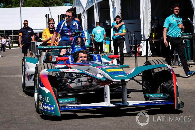 Coche de Robin Frijns, Amlin Andretti Formula E Team