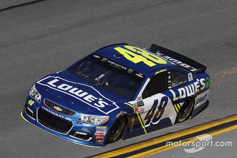#48: Jimmie Johnson, Hendrick Motorsports, Chevrolet