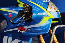 تفاصيل دراجة أليكس رينز، فريق سوزوكي