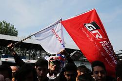 Toyota Racing fans