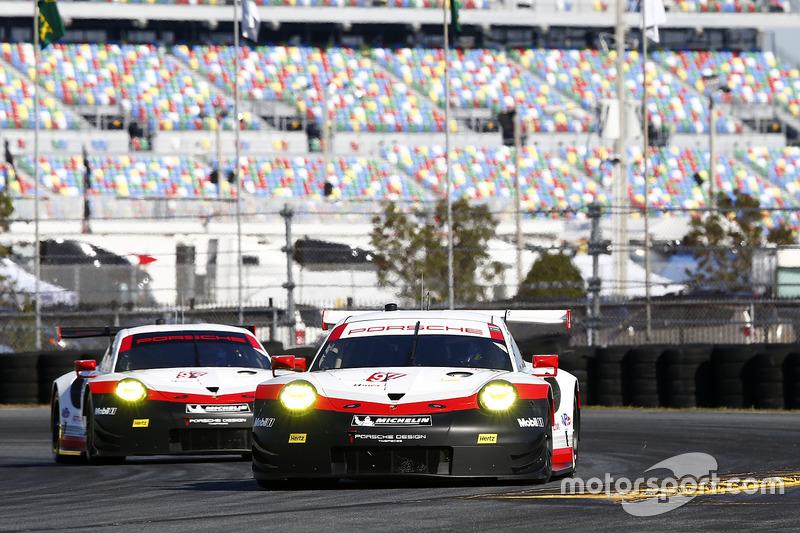 #911 Porsche Team North America Porsche 911 RSR: Patrick Pilet, Dirk Werner, Frederic Wakowiecki, #9