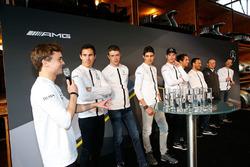 Mercedes drivers