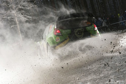 Yazeed Al-Rajhi and Michael Orr, Ford Fiesta WRC