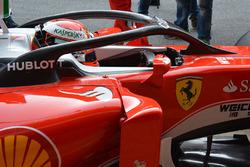 Кими Райкконен, Ferrari SF16-H тестирует вариант закрытого кокпита для машин Формулы 1