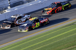 William Byron, Hendrick Motorsports,AXALTA Chevrolet Camaro, Kasey Kahne, Leavine Family Racing Chevrolet Camaro, and Martin Truex Jr., Furniture Row Racing Toyota