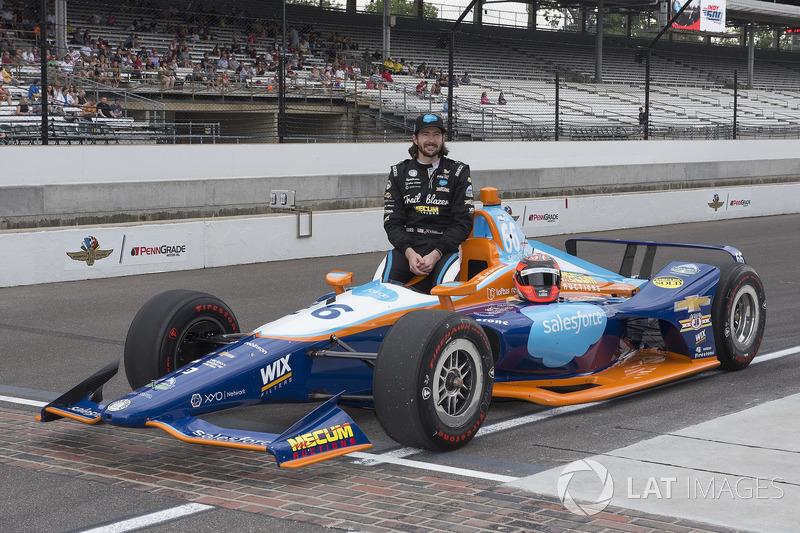 27. J.R. Hildebrand, Dreyer & Reinbold Racing, Chevrolet