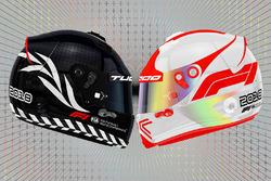 F1 logo proposed helmet designs